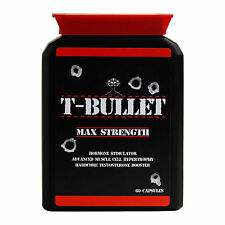 GENUINE ORIGINAL T BULLETS EXTREME TESTOSTERONE BOOSTER - PRO ANABOLIC TEST