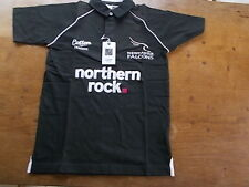 2007 NEWCASTLE FALCONS Cotton Traders Rugby Union SS Shirt Youth Size BNWT