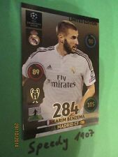 Champions League 2015 Limited Edition benzema Panini Adrenalyn 14 15