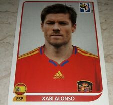 FIGURINA CALCIATORI PANINI SOUTH AFRICA 2010 SPAGNA ALONSO ALBUM MONDIALI