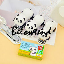 Newest Panda Staple Free Stapler Eco Friendly Staples Paper Staplers Save