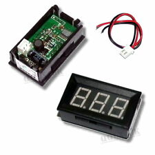 DC 15V to 80V Green Mini Digital Voltmeter Panel Small Digital Voltage Panel UK