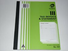 Olympic Tax Invoice & Statement copymate carbonless 50 leaf Triplicate No.727
