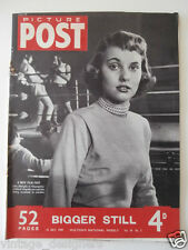 PICTURE POST Magazine 1949 16 July  Marlene Dietrich Lola Albright vintage UK