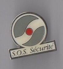 Pin's s.o.s sécurité