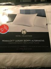 Hotel Collection Primaloft Luxury Down Alternative S/Q Firm Support Pillow