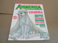 APRIL 2003 ANIMERICA vintage anime manga magazine - CHOBIT - DRAGONBALL GT