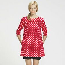 MARIMEKKO Petja Red Polka Dot Tunic - Size L Large BNWT *NEW*