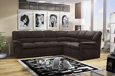Corner Sofa Bed Martyna faux leather or fabric  left or right hand