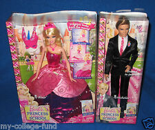 BARBIE PRINCESS CHARM SCHOOL 2 IN 1 BLAIR & KEN SET NEW