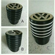 VW T5 T6 Gear Shift Knob Ribbed Black