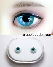 1/3 1/4 bjd 12mm sea blue glass doll eyes dollfie Luts iplehouse #KH-08