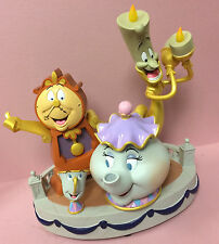 Disney Parks Beauty & Beast Enchanted Objects Medium Figurine Lumiere Potts Chip