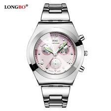 Fashionable Women's Luminous Watches Stainless Steel Waterproof Ladies Watches