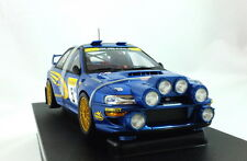 AUTOart 1/18 Subaru Impreza #5 Night Race 22B 1999 Monte Carlo Burns Reid 89994