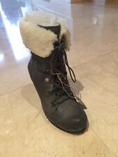 Sixty seven Women's Grey Boots - Leather - SZ 4UK / EUR 37 - RRP £120 - SALE