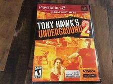Tony Hawk's Underground 2 (Sony PlayStation 2, 2004) Greatest Hits New/Sealed