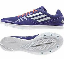 New Adidas Adizero Avanti 2 Track Running Sprint Spike Shoes B44236 Mens 13 Blue