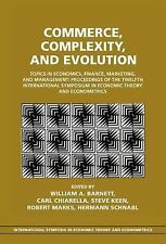 Commerce, Complexity, and Evolution: Topics in Economics, Finance, Marketing, an