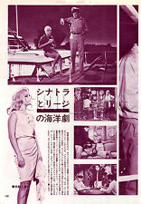 1966, Virna Lisi & Frank Sinatra Japan Vintage Clippings 3sc3