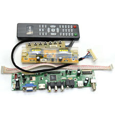 LCD TV Controller Driver Board DIY Monitor Kit For Chi Mei M200O1-L01 1600x900