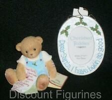 Cherished Teddies Enesco 2005 Dear Santa I Have Been So Good Figurine #4002831