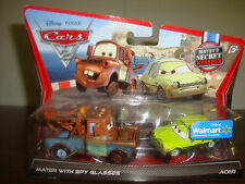 Disney---Cars 2---Mater's Secret Mission---Mater W/Spy Glasses & Acer---Walmart
