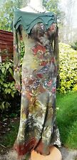 SAVE THE QUEEN Maxi Dress BNWT NEW 'Mid Autumn Nights Dream' M Uk 10 12