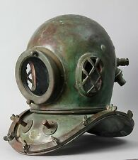 Japanese authentic Diving Helmet.  12 bolt . Circa 1920-40 s G23