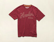 Howler Brothers Tie Down TShirt ~ Maroon NEW ~ Closeout Size XLarge