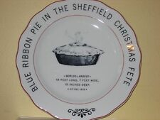 Prized Christmas Bakery Pie 1919 Competition Plate Vista Alegre Portugal