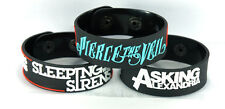 SLEEPING WITH SIRENS ASKING ALEXANDRIA PIERCE THE VEIL 3pcs Wristband 3SW2