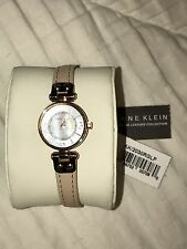 Anne Klein Watch AK/2030 RGLP (rose gold face, blush pink band)