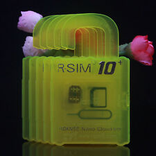 2016 New R SIM10 + PLUS unlocking card For IOS 7. 8. 9. for IPhone 4s 5 6 6S
