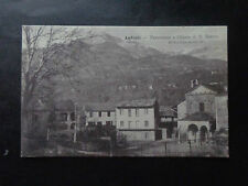 CARTOLINA TORINO ANDRATE PANORAMA CHIESA S.ROCCO VIAGGIATA 1908 NUMIS SUBALPINA