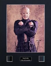 Doug Bradley Pinhead Hellraiser Ver3 Signed Photo Film Cell Presentation