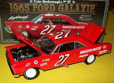 Cale Yarborough 1965 Ford Galaxie #27 Abingdon Motor Co 1/24 NASCAR Legends New