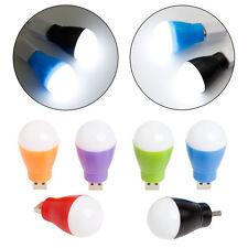 New DC Portable 5V 5W LED USB White Light Bulb Lamp For Laptop Computer Reading