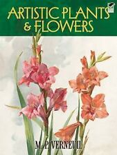 Dover Fine Art History of Art Series Artistic Plants and Flowers ed Verneuil p/b