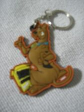 Scooby Doo laser cut  keyring posing with snack box *