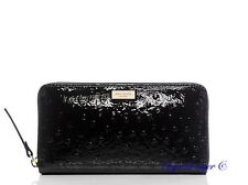 NWT KATE SPADE ALEXANDER AVENUE NEDA LEATHER WALLET WLRU2314 BLACK