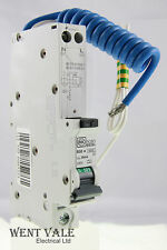 MK Sentry 6939s - 50a 30mA Type B Single Pole RCBO New in Box