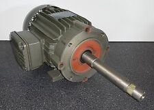 WEG 2 HP 3600 RPM TEFC 200/400 VOLTS 145JP 3 PHASE MOTOR NEW SURPLUS