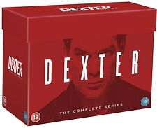 DEXTER COMPLETE SERIES 1-8 BOXSET 33 DISCS R4 BRAND NEW & SEALED 1 2 3 4 5 6 7 8