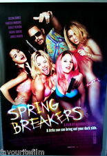 Cinema Poster: SPRING BREAKERS 2013 (US One Sheet) Selena Gomez Vanessa Hudgens