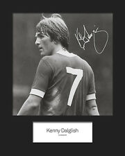 KENNY DALGLISH Signed 10x8 Mounted Photo Print - FREE DEL