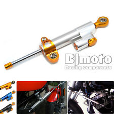 CNC Adjustable Steering Damper Hydraulic Stabilizer for 96-15 Harley Motorcycles