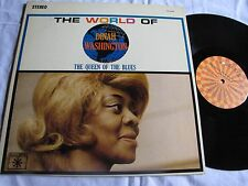 Mint original stereo Dinah Washington The World of Queen of the Blues