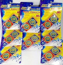 8x16 Super Soaker Body Targets Clip On 128 Squirt Gun Water Fight Tag Hot Summer