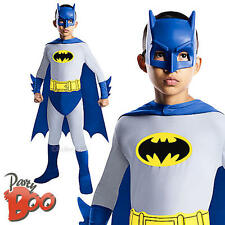 Batman Age 5 6 7 Fancy Dress Superhero Child Kids Comic Book Boys Costume New